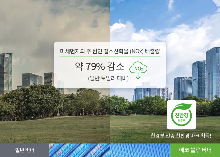 깨끗하고 맑은 공기를 위한 친환경 보일러